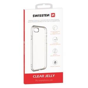 Husa Cover Swissten Silicon Jelly pentru Huawei P Smart 2021 Transparent
