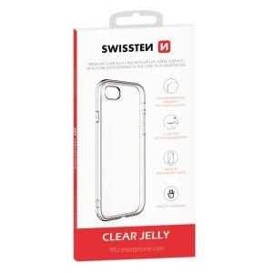 Husa Cover Swissten Silicon Jelly pentru Samsung Galaxy S20 Transparent