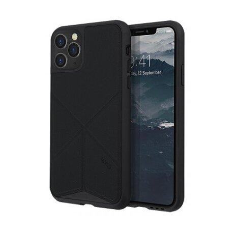 Husa Cover TPU-Textil Uniq Rigor pentru iPhone 11 Pro Max UNIQ-IP6.5HYB(2019)-TRSFBLK Negru