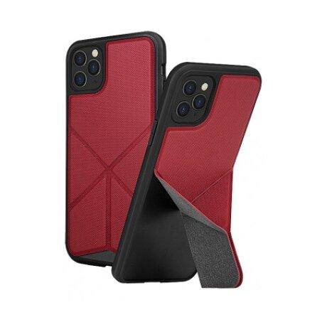 Husa Cover TPU-Textil Uniq Rigor pentru iPhone 11 Pro Max UNIQ-IP6.5HYB(2019)-TRSFRED Rosu