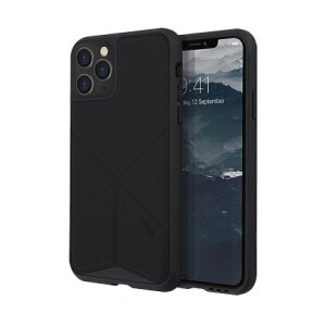 Husa Cover TPU-Textil Uniq Rigor pentru iPhone 11 Pro UNIQ-IP5.8HYB(2019)-TRSFBLK Negru