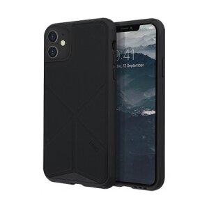 Husa Cover TPU-Textil Uniq Rigor pentru iPhone 11 UNIQ-IP6.1HYB(2019)-TRSFBLK Negru