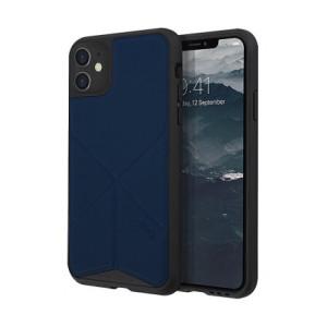 Husa Cover TPU-Textil Uniq Rigor pentru iPhone 11 UNIQ-IP6.1HYB(2019)-TRSFBLU Albastru