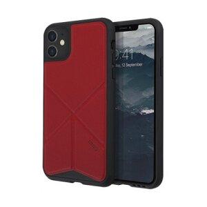 Husa Cover TPU-Textil Uniq Rigor pentru iPhone 11 UNIQ-IP6.1HYB(2019)-TRSFRED Rosu