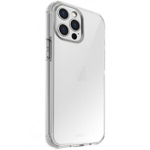 Husa Cover TPU Uniq Air Fender Antisoc pentru iPhone 12 Pro Max Transparent