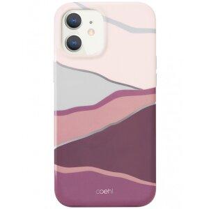 Husa Cover TPU Uniq Coehl Ciel pentru iPhone 12 Mini Roz