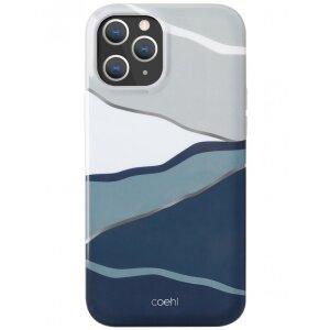 Husa Cover TPU Uniq Coehl Ciel pentru iPhone 12/12 Pro Albastru