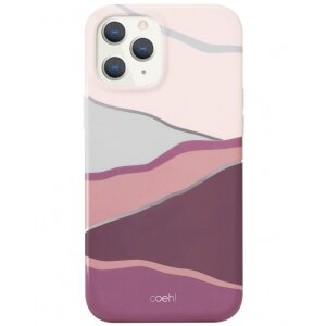 Husa Cover TPU Uniq Coehl Ciel pentru iPhone 12/12 Pro  Roz