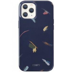 Husa Cover TPU Uniq Coehl Reverie pentru iPhone 12/12 Pro Albastru