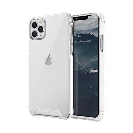 Husa Cover TPU Uniq Combat Antisoc pentru iPhone 11 Pro Max Alb