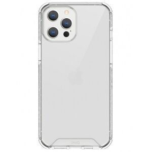 Husa Cover TPU Uniq Combat Antisoc pentru iPhone 12 Pro Max Transparent