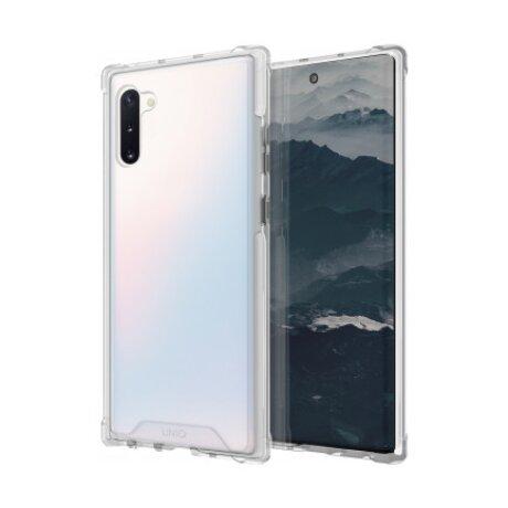 Husa Cover TPU Uniq Combat Antisoc pentru Samsung Galaxy Note 10 Alb