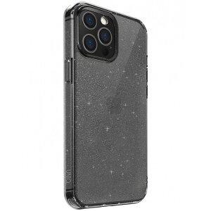 Husa Cover TPU Uniq LifePro Tinsel Glitter pentru iPhone 12 Pro Max Gri
