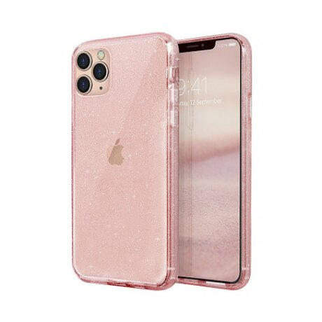 Husa Cover TPU Uniq Lifepro Tinsel pentru iPhone 11 Pro Max Roz