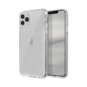 Husa Cover TPU Uniq Lifepro Tinsel pentru iPhone 11 Pro Transparent