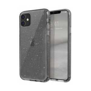 Husa Cover TPU Uniq Lifepro Tinsel pentru iPhone 11 UNIQ-IP6.1HYB(2019)-LPRTSMK Gri