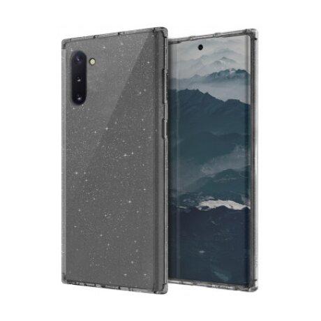 Husa Cover TPU Uniq LifePro Tinsel pentru Samsung Galaxy Note 10 UNIQ-GN10HYB-LPRTSMK Gri