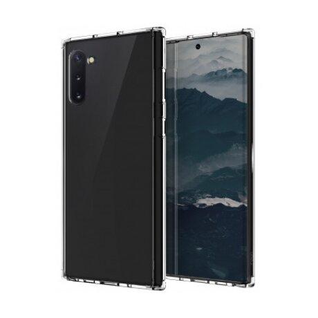 Husa Cover TPU Uniq LifePro Xtreme Antisoc Glitter pentru Samsung Galaxy Note 10 UNIQ-GN10HYB-LPRXCLR Transparent