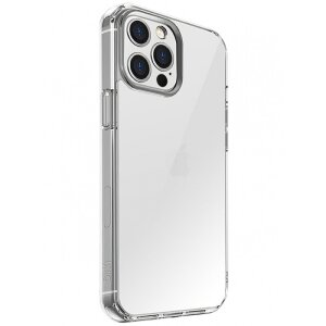 Husa Cover TPU Uniq LifePro Xtreme Antisoc pentru iPhone 12 Pro Max Transparent