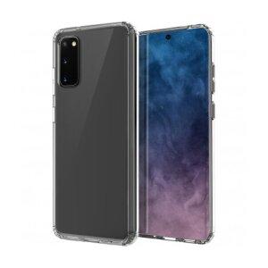 Husa Cover TPU Uniq LifePro Xtreme Antisoc pentru Samsung Galaxy S20 UNIQ-GS20HYB-LPRXCLR Transparent