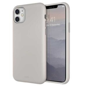 Husa Cover TPU Uniq Lino pentru iPhone 11 LINOHBEG Bej