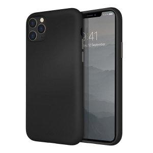 Husa Cover TPU Uniq Lino pentru iPhone 11 Pro Max LINOHBLK Negru