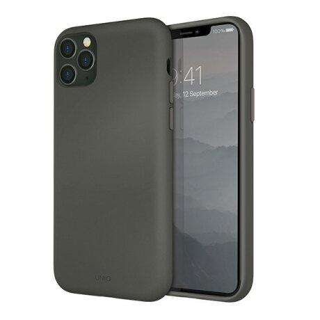 Husa Cover TPU Uniq Lino pentru iPhone 11 Pro Max LINOHGRY Gri