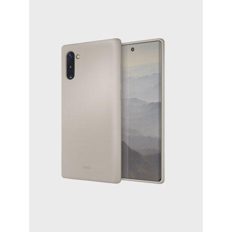 Husa Cover TPU Uniq Lino pentru Samsung Galaxy Note 10 Plus LINOGRY Gri