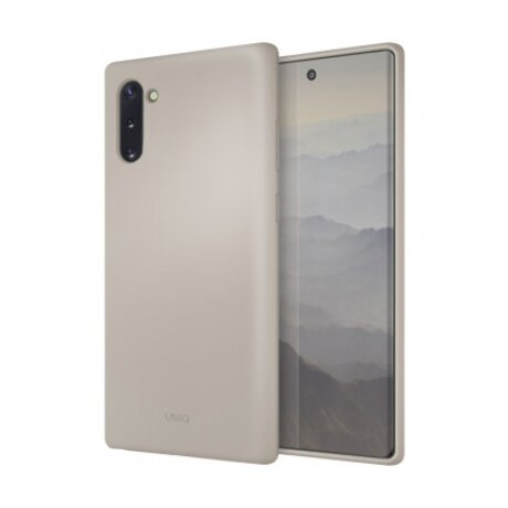 Husa Cover TPU Uniq Lino pentru Samsung Galaxy Note 10 UNIQ-GN10HYB-LINOBEG Bej