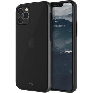 Husa Cover TPU Uniq Vesto Hue pentru iPhone 11 Pro Max VESHGMT Negru