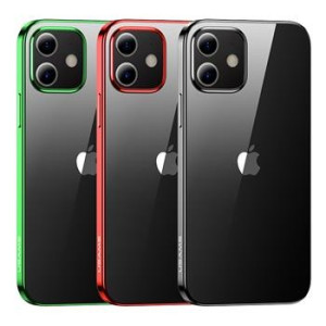 Husa Cover TPU Usams Kryt Pro Kingdom pentru iPhone 12 Pro  Verde