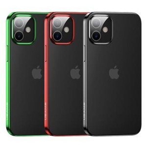 Husa Cover TPU Usams Kryt Pro Kingdom pentru iPhone 12 Mini Rosu