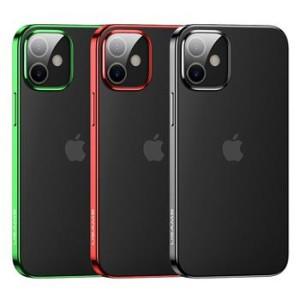 Husa Cover TPU Usams Kryt Pro Kingdom pentru iPhone 12 Mini Verde
