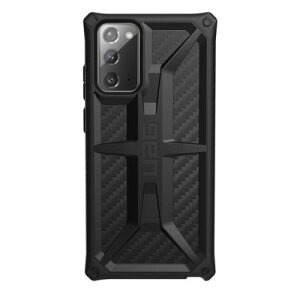 Husa Cover UAG Monarch Carbon Fiber pentru Samsung Galaxy Note 20 Black