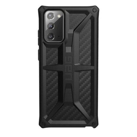 Husa Cover UAG Monarch Carbon Fiber pentru Samsung Galaxy Note 20 Black