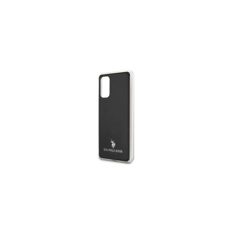 Husa Cover US Polo Shiny pentru Samsung Galaxy S20 Plus Neagra