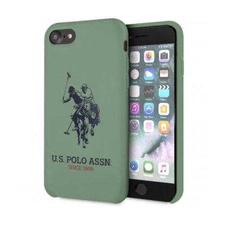 Husa Cover US Polo Silicone Big Horse pentru iPhone 7/8/SE 2  Green