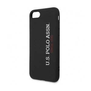 Husa Cover US Polo Silicone pentru iPhone 7/8/SE 2  Black