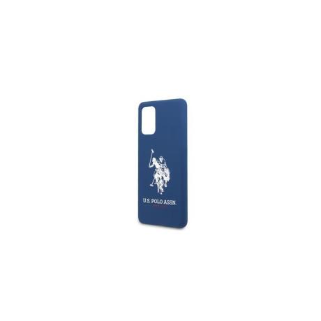 Husa Cover US Polo Silicone pentru Samsung Galaxy S20 Plus Albastra