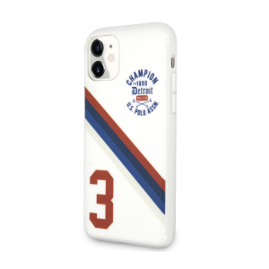 Husa Cover US Polo TPU Detroit 3 Pro pentru iPhone 11 White