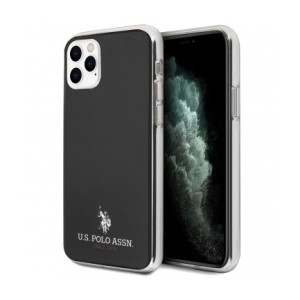 Husa Cover US Polo TPU Small Horse pentru iPhone 11 Pro USHCN58TPUBK Black
