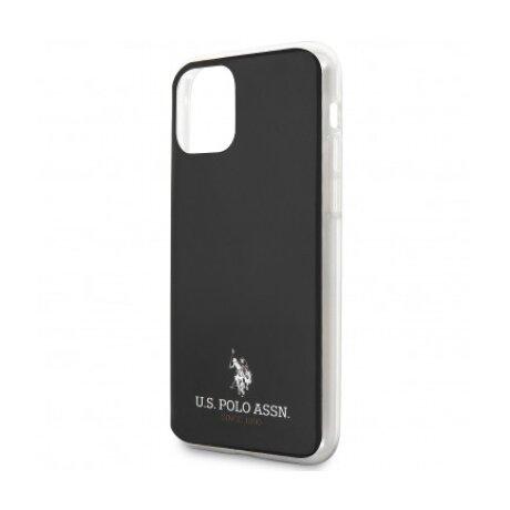 Husa Cover US Polo TPU Small Horse pentru iPhone 11  Black