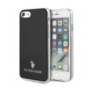 Husa Cover US Polo TPU Small Horse pentru iPhone 7/8/SE 2 USHCI8TPUBK Black