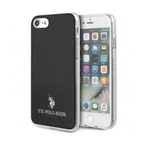 Husa Cover US Polo TPU Small Horse pentru iPhone 7/8/SE 2  Black