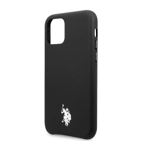 Husa Cover US Polo TPU Wrapped pentru iPhone 11 Pro Negru