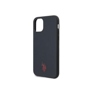 Husa Cover US Polo Type Collection pentru iPhone 11 Bleumarin