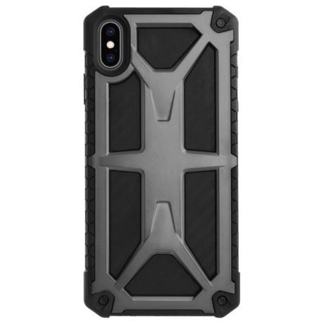 Husa Defender iPhone XS Max, Gri Contakt
