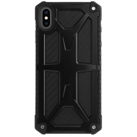 Husa Defender iPhone XS Max, Negru Contakt