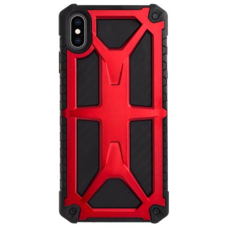 Husa Defender iPhone Xs Max, Rosu Contakt