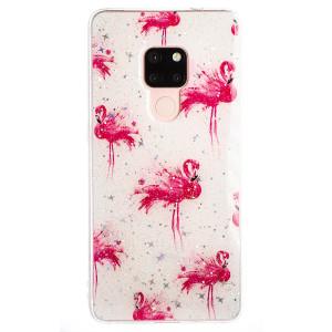 Husa Fashion Huawei Mate 20 , Flamingo